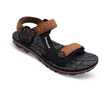 HOMYPED NABIRE 02 Sandal Gunung Pria Black/Brown