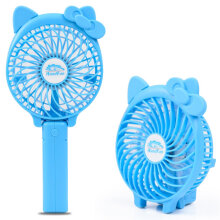 [OUTAD] Fashion Speed USB Handheld Battery Rechargeable Multifunctional Mini Fan Blue