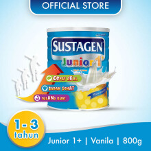 SUSTAGEN Junior 1+ Susu Vanila Tin - 800gr