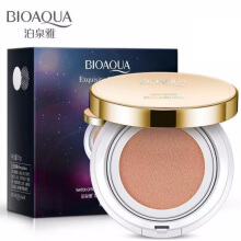 Bioaqua Exquisite and Delicate BB Cream Air Cushion Pack Gold Case SPF 50++ Foundation Make Up 15gr