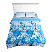 NYENYAK Bluebell Fitted Sheet / Comforter - KING/QUEEN/SINGLE