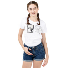 MOUTLEY Ladies Tshirt 0301 M03011822 - White