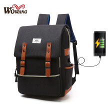 Fireflies B0360 USB charging / original Korean fashion men's backpack / multi-function laptop bag