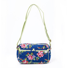 Naraya Flower Shoulder Bag Printed with Twin Pockets NB-219 CP111 Multicolor