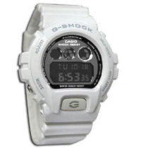 Casio G-SHOCK DW-6900NB-7D Sports waterproof electronic watch-White