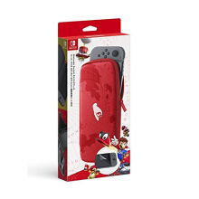 NINTENDO Switch Carrying Case & Screen Protection - Super Mario Odyssey Edition