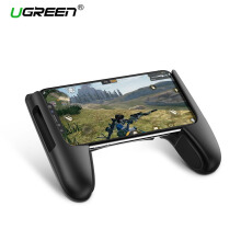 UGREEN Game Pad Standing Handphone Game Controller Gamepad Trigger Joystick For iPhone, Samsung, Xiaomi Redmi, Huawei, VIVO, OPPO, Game Pad Accesorios Mobile Game Controller Black