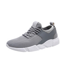 BESSKY Men Fashion Solid Color Cross Tied Stripe Casual Gym Shoes Running Shoes_