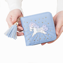 Si Ying S432 Import Ms. Wallet / Korea original /Short frosted wallet