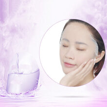 TOWER PRO BINGJU 10 Pieces/Set Lavender Facial Beauty Mask Cleaning Anti-Aging White