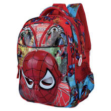 CATENZO JUNIOR - TAS BACKPACK ANAK LAKI-LAKI - CMB 014- CMB 014 - MERAH KOMBINASI - ALL SIZE