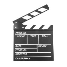 [COZIME] Director Video Scene Clapperboard TV Movie Clapper Board Film Slate Cut Prop Others