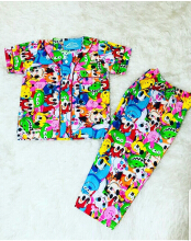 Cottongrass Motif Disney Anak Multicolor