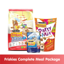 FRISKIES KT Discovery 1.1kg + 1 Wet Can (random) + 1 Party Mix (random)