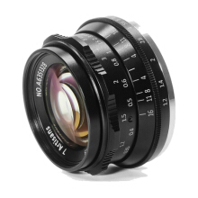 7Artisans Lens 35mm F1.2 For Sony E-Mount Black Black