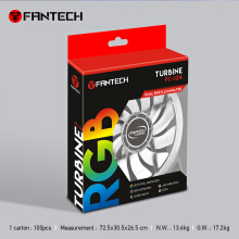 Fantech Fan Casing TURBINE FC-124 RGB