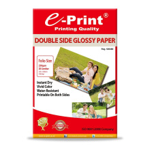 E-PRINT Double Side Glossy Photo Paper Folio F4 230gsm 20 Sheets