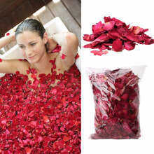 Dried Rose Petals Natural Flower Spa Whitening Shower Dry Rose Natural Flower Petal Bath Relieve Fr