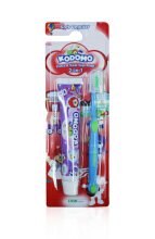 Kodomo Soft Regular 2in1 Toothbrush