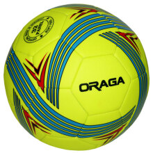 Oraga Bola Futsal Uno No. 4 Neon Lime / Blue / Red 4