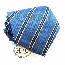 HOUSEOFCUFF Dasi Neck Tie Motif Wedding Best Man BLUE SKY LISTED Blue
