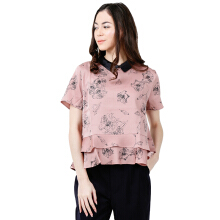 THE EXECUTIVE Women  5-BSWSIG118C002 Blouse -Rose Pink