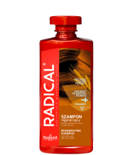 RADICAL Regenerating shampoo for dry and brittle hair 400ml