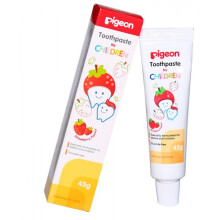 [free ongkir]Pigeon Children Tooth Paste 45 gram - Strawberry