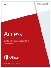 Microsoft Access 2013 Retail Box with Disc