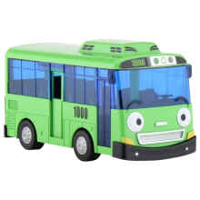 Tayo The Little Bus Diecast Rogi Pull Back Original Green - Iconix