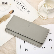 YOOHUI New temperament buckle card soft leather wallet