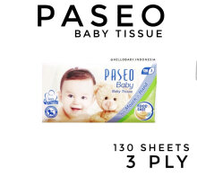 Paseo Tissue Baby 130 Sheets 3 Ply