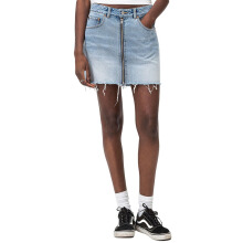 CHEAP MONDAY Zip Short Skirt 0508084 - Blue Blaze