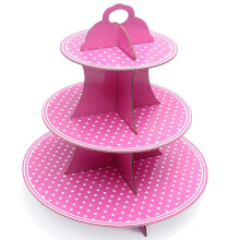 Radysa Stand Cup Cake 3 Tier - Girl Pink Others