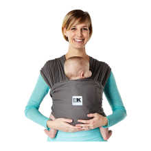 BABY K'TAN Carrier Breeze Charcoal