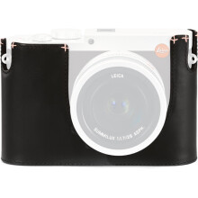 Leica Protector for Q Typ 116 Half Case Black Leather (19539) Black
