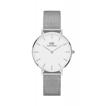 Daniel Wellington Classic Petite Sterling 32mm Silver Case
