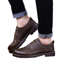 SiYing Business new men's wild fashion waterproof lace-up shoes