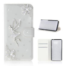 MOONMINI for Samsung Galaxy Note 9 For  3D Bling Diamond Rhinestones PU Leather Wallet Case Flip Stand Card Slots Cover with Magnetic Closure