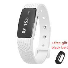 SANDA D08A Original high quality Heart Rate Monitor Pedometer Waterproof Sport Smart band