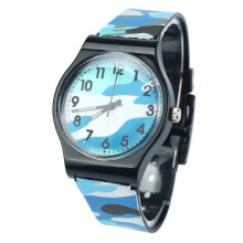 PEKY New Fashion Children Watch Camouflage Quartz Watch Girl Boy Dropship High Quality