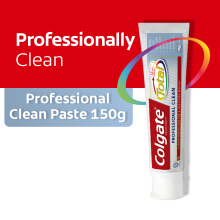 COLGATE Pasta Gigi Total Pro Clean Paste 150gr