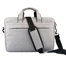 jantens   waterproof Bag shoulder Messenger bag Men Fashion New Arrival Laptop Tablet bag Grey