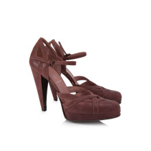 Pre-Owned Miu Miu Leather Heels