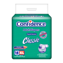CONFIDENCE Adult Diapers Classic [XL] 15's