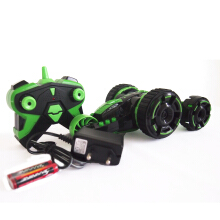 Mainan Remote Control Spy Zone Five Wheel Storm 5588-702 Hijau Green