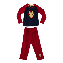 MARVEL Iron Man Pajama Set for Boys N072 – Red