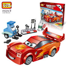 Loz Mini 1616 Junior City Red