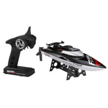 COZIME Feilun FT012 45km/h High Speed RC Brushless Racing Boat Flipped Water Cooling Black