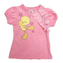Kids Icon - Kaos Anak Perempuan LOONEY TUNES with Ruffle Rayon Detail - LG1K0600180